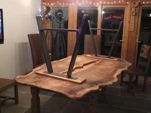 Table, footstool 008